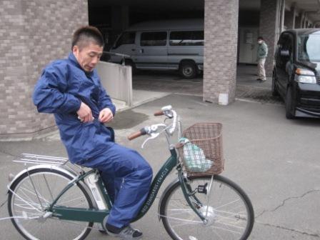 電動自転車部隊(サンダーバード)