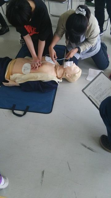 救命講習AED